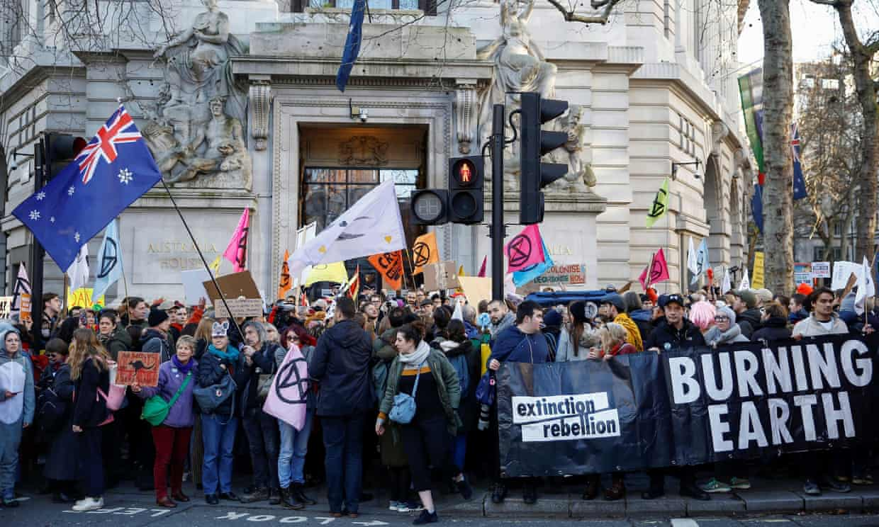 Terrorism police list Extinction Rebellion as extremist ideology | UK news | The Guardian