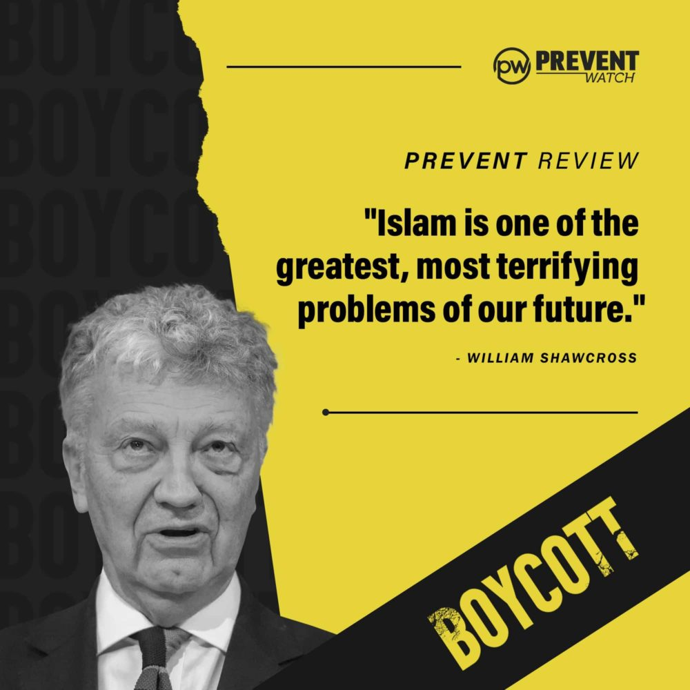 Call to Boycott the Shawcross Review of Prevent